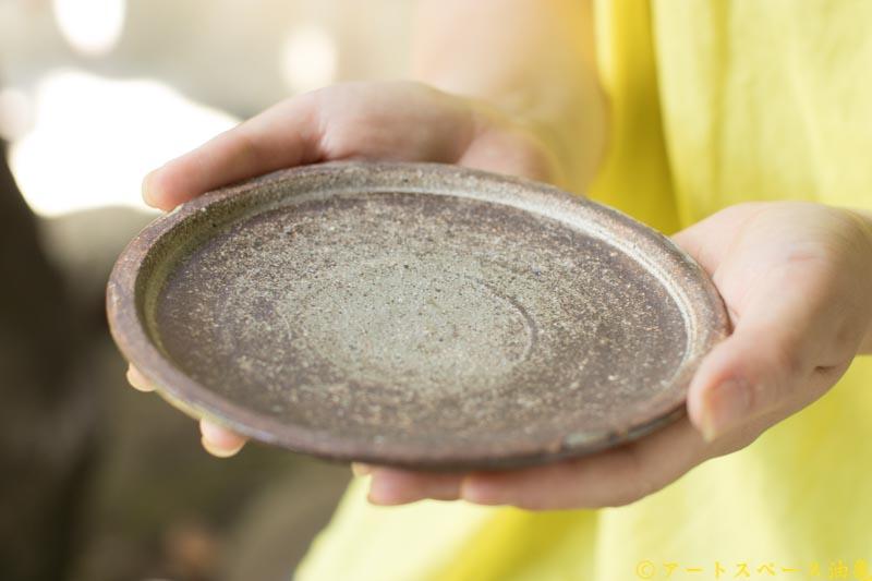 画像4: 林拓児「化粧 ケーキ皿 5寸 B」