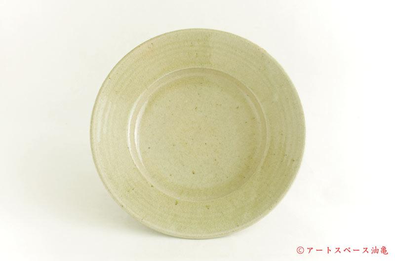 寺村光輔「灰釉 リム鉢」