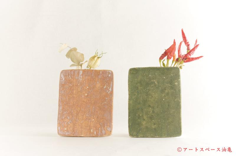 矢尾板克則「陶板掛花」