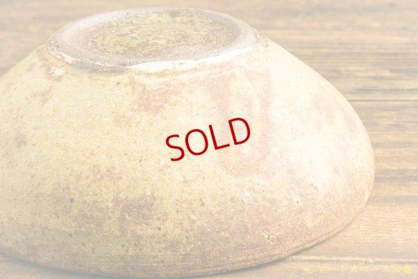 画像4: 馬渡新平「ヒビ粉引き 丸鉢5寸」