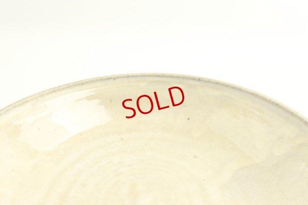 画像4: 八木橋昇「黄化粧 掛け分け 玉縁8寸浅鉢」