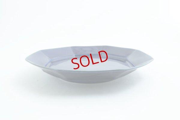 画像3: 柳川謙治「瑠璃 八角七寸皿」