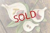 ミヤチヤスヨ「枝葉皿」豆