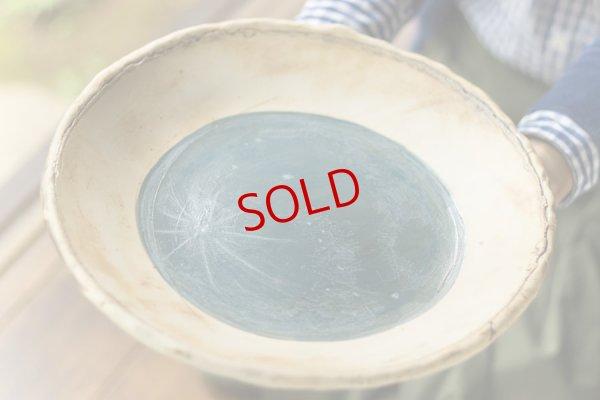 画像1: 許斐良助「タタラ丸皿」