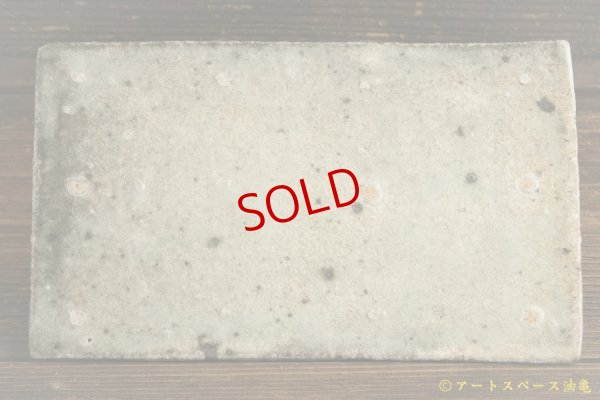 画像1: 八田亨「tile plate 長小」