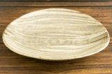 工藤和彦「白樺刷毛目 たわみ8寸鉢」