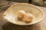 工藤和彦  黄粉引平片口7寸鉢