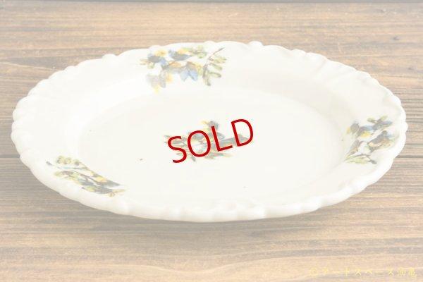 画像3: 松本郁美「白磁掻き落し リム装飾デザート皿」