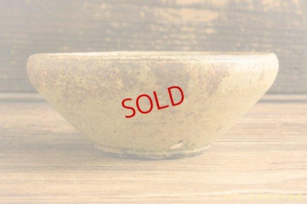 画像2: 馬渡新平 ヒビ粉引き 丸鉢4.5寸