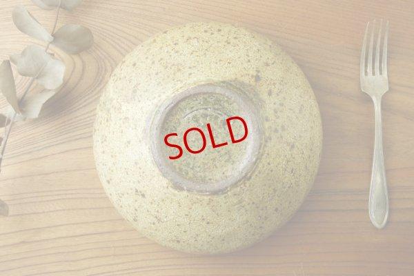画像5: 馬渡新平「ヒビ粉引 6寸丸鉢」