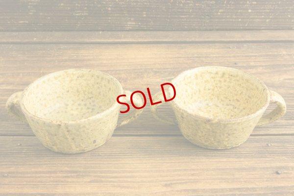 画像2: 馬渡新平「ヒビ粉引 スープ碗4寸」