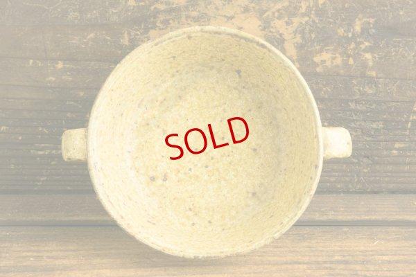 画像3: 馬渡新平「ヒビ粉引 スープ碗4寸」
