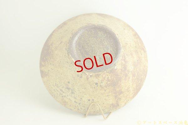 画像5: 馬渡新平「ヒビ粉引き 丸鉢8寸」