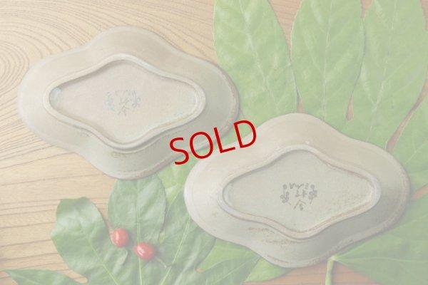 画像3: ヒヅミ峠舎 三浦圭司・三浦アリサ「色絵 たんぽぽ文花型皿」