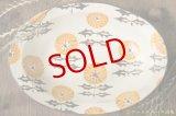 ヒヅミ峠舎 三浦圭司・三浦アリサ 色絵たんぽぽ文楕円皿