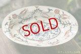 ヒヅミ峠舎 三浦圭司・三浦アリサ 染付多彩楕円皿「神獣」