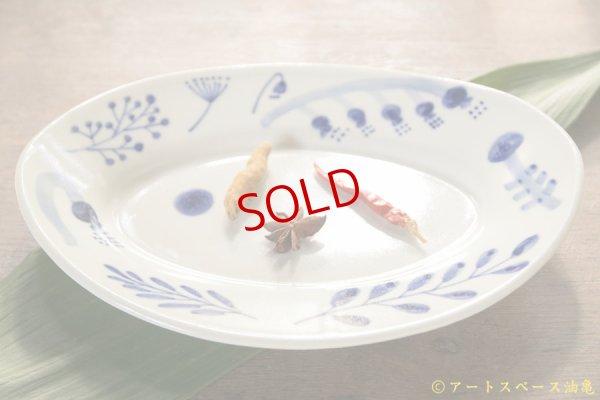 画像1: 木ユウコ 【新作:ツヤあり】オーバル皿