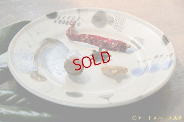 画像1: 木ユウコ 【新作:ツヤあり】リム中皿