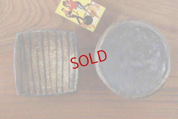 画像1: タナベヨシミ「ぶ厚いイラボ 豆皿」