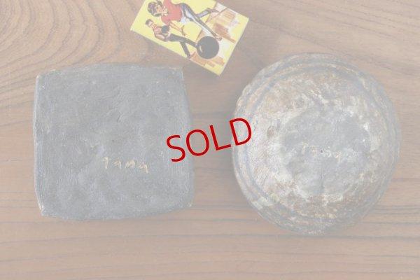 画像2: タナベヨシミ「ぶ厚いイラボ 豆皿」