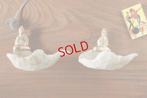 画像1: タナベヨシミ「金仏 豆皿」