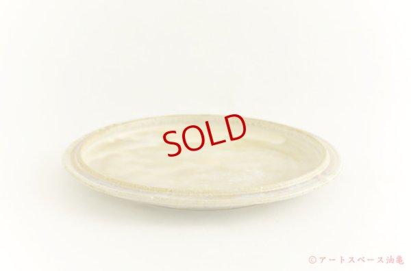 画像2: 八木橋昇「黄化粧 リム深皿」