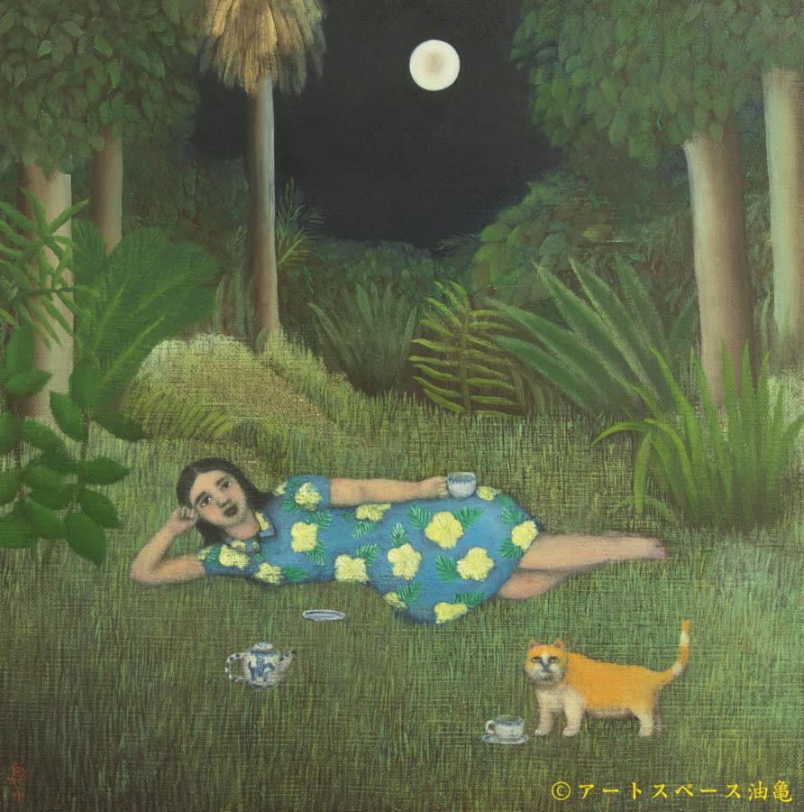 アートスペース油亀企画展 吉行鮎子絵画展「あるピアニストの叙事詩」