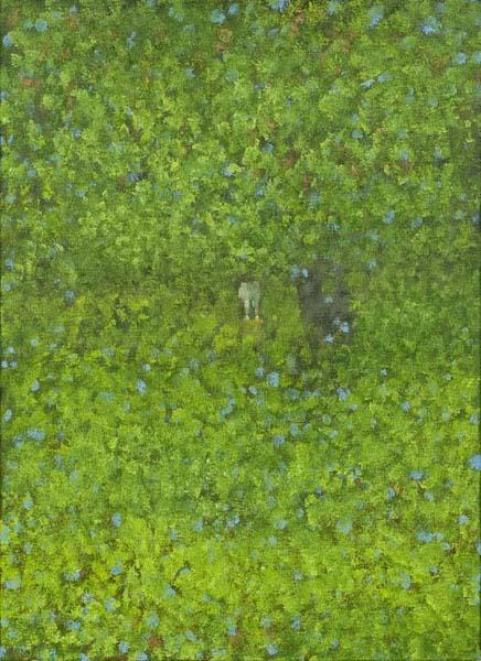 画像1: 吉行鮎子「アブストラクトの森(1)」