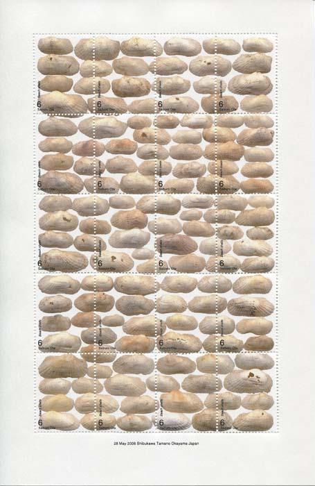 画像1: 太田三郎「On the Beach」より「Beach shells 」A(額付き)
