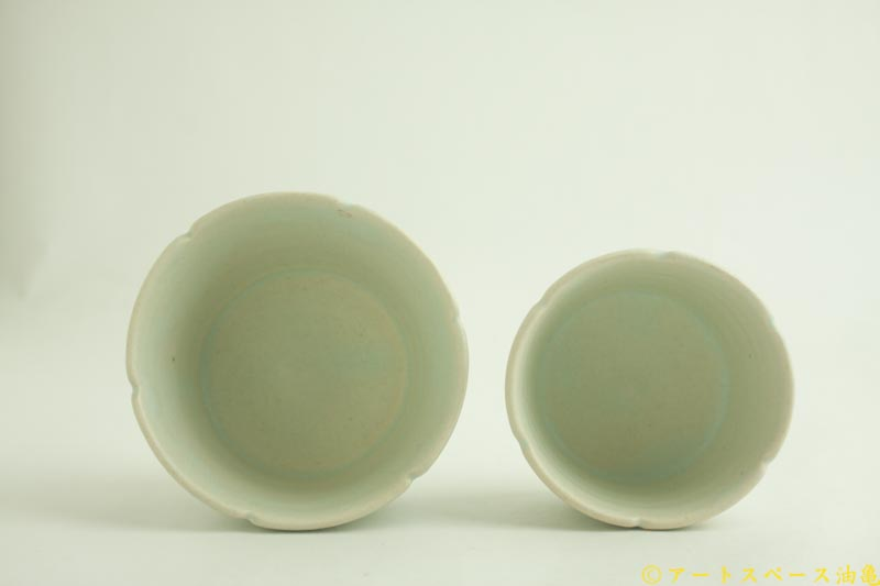 画像2: 江口香澄「白花そば猪口」