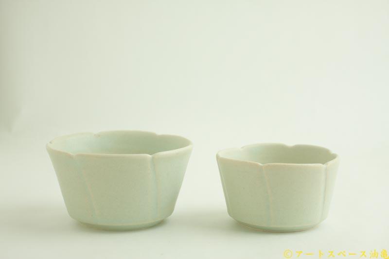 画像1: 江口香澄「白花そば猪口」