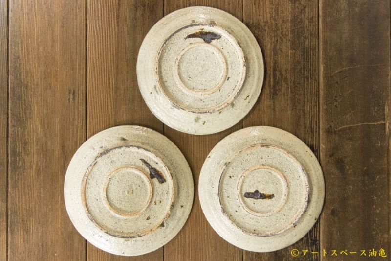 画像2: 工藤和彦「白樺ホワイト6.5寸プレート皿」【アソート商品】