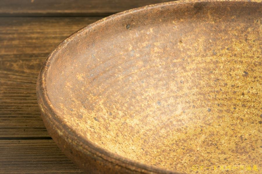 画像4: 馬渡新平「ヒビ粉引 丸鉢8寸」