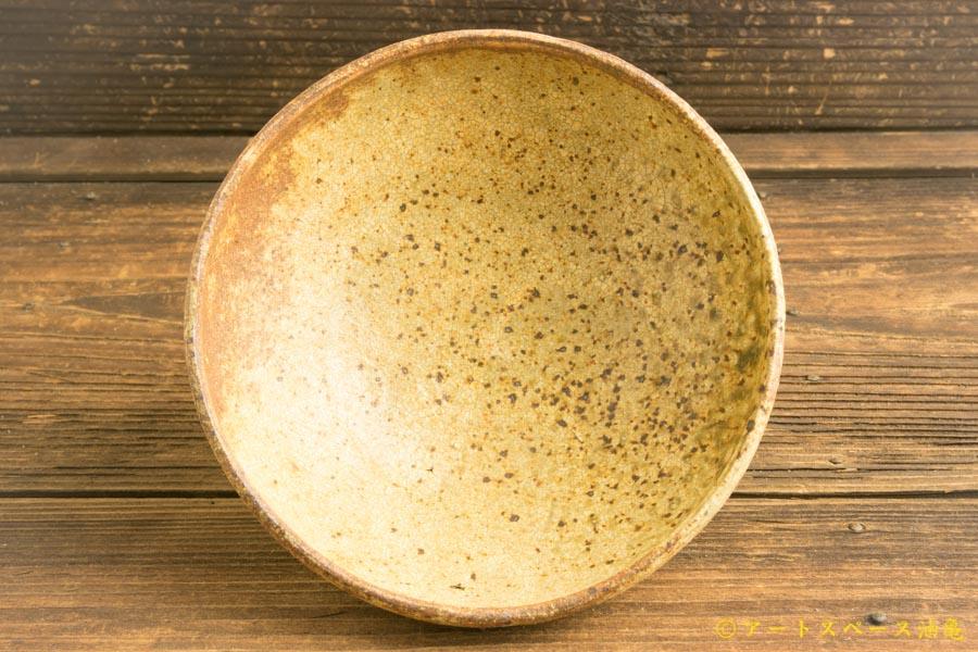 画像3: 馬渡新平「ヒビ粉引き 丸鉢5寸」