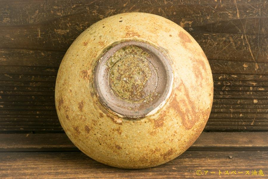 画像5: 馬渡新平「ヒビ粉引き 丸鉢5寸」