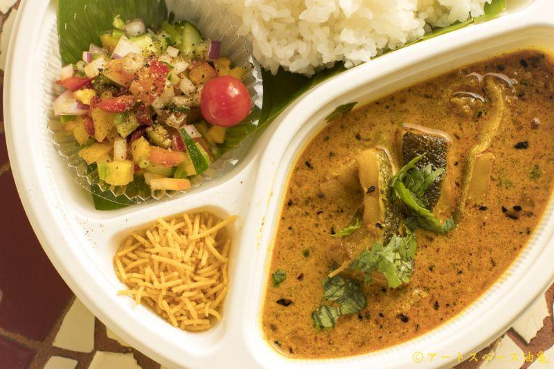 油亀のweb通販 魅惑のベンガル料理 インド料理SPICE  マスタードフィッシュカレー「ショルシェ・マーチ」