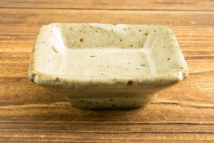 画像2: 寺村光輔「林檎灰釉 豆角皿」