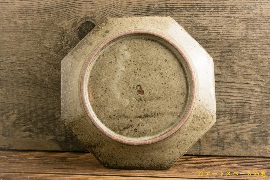 画像3: 寺村光輔「長石釉 オクトゴナル5寸皿」