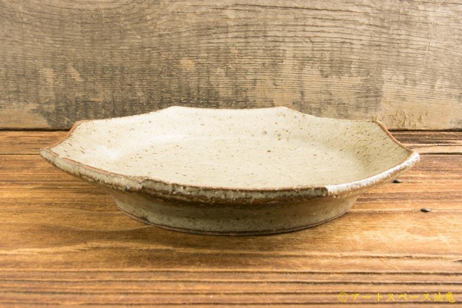画像2: 寺村光輔「長石釉 オクトゴナル5寸皿」