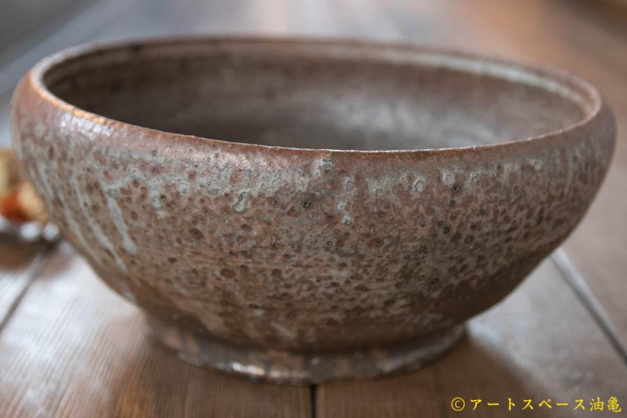画像1: 加地学 化粧灰釉 大鉢