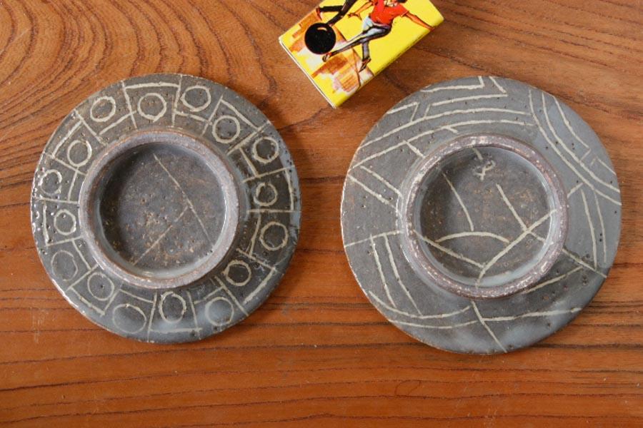 画像2: 安藤大悟「描き落とし 三寸豆皿」