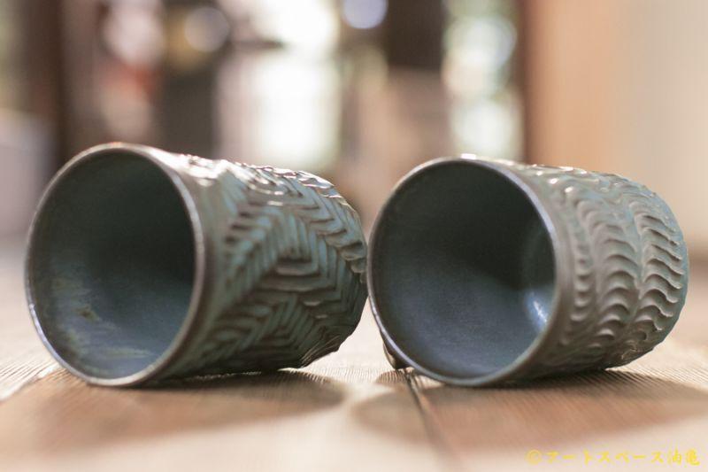 画像4: 安藤大悟 マグカップ筒【青き月光】