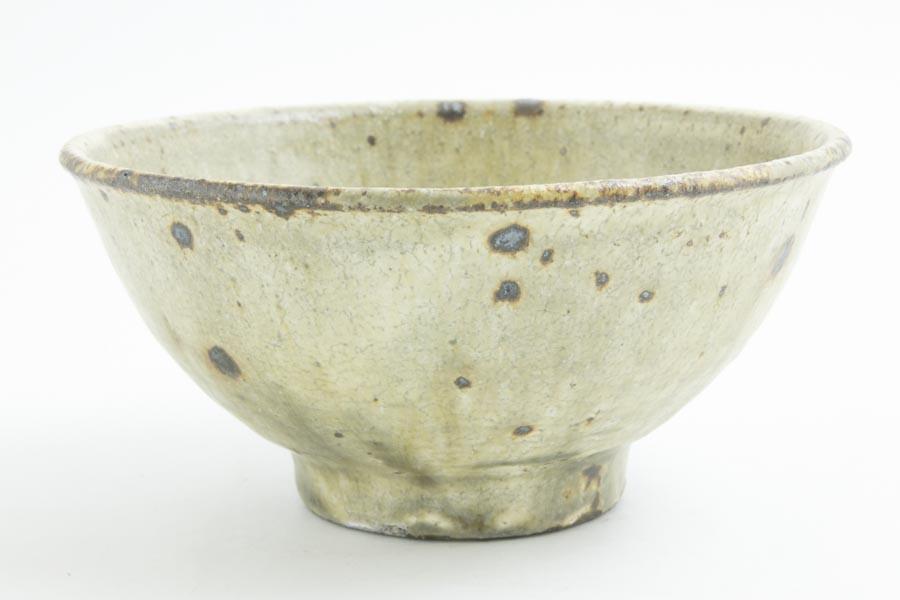画像2: 田村文宏「灰釉粉引めし碗」