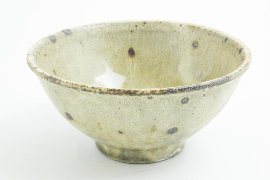 画像1: 田村文宏「灰釉粉引めし碗」