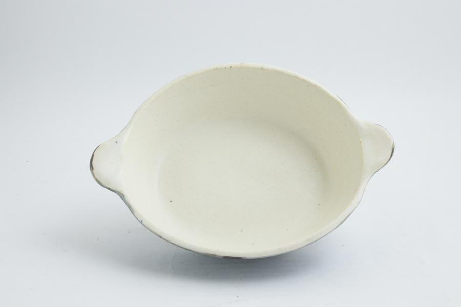 画像4: 八木橋昇「青白 楕円グラタン皿(耐熱陶器)」