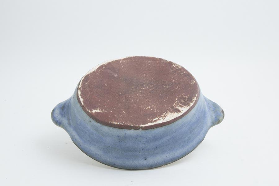 画像5: 八木橋昇「青白 楕円グラタン皿(耐熱陶器)」