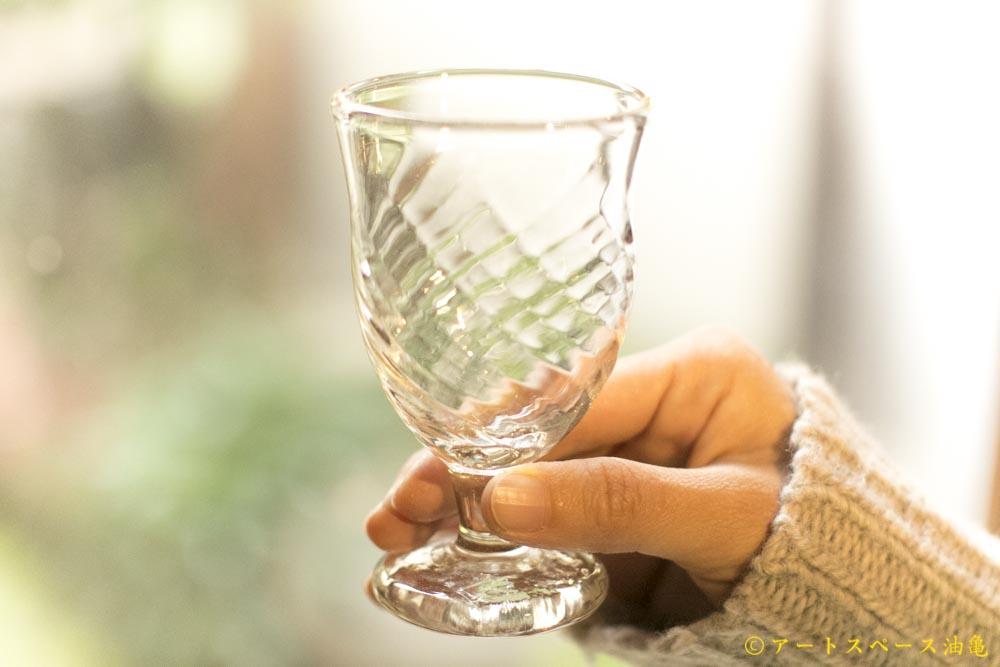 画像1: 前田一郎「足付きグラス」