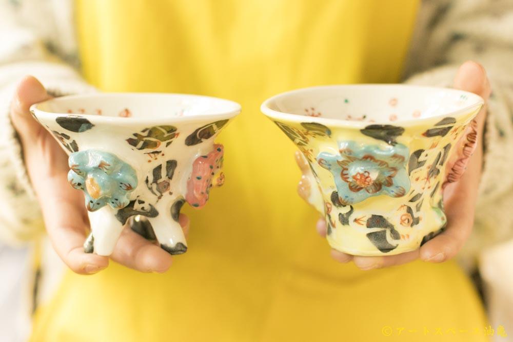 画像1: 浜坂尚子「お花小鉢」