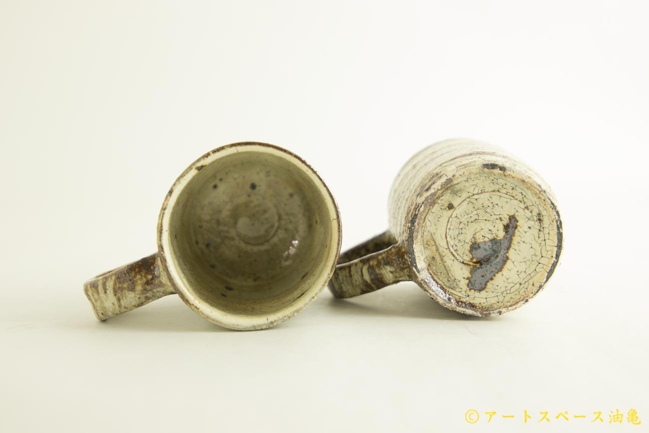 画像5: 工藤和彦「白樺刷毛目マグカップ」