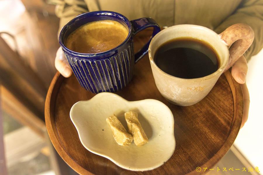 油亀のweb通販「油亀ジャーナル」よりコーヒーのうつわたち